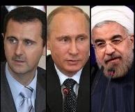 گفت و گوی تلفنی پوتین با اسد و روحانی/آتش بس در سوریه