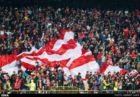 حضور کم تعداد تماشاگران در ورزشگاه آزادی