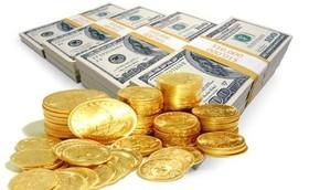 کاهش قیمت سکه و ارز+ جدول