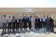 افتتاح یک مرکز بهداشتی- درمانی در روستای جوشین