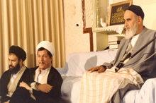 امام خمینی(س): بدخواهان بدانند هاشمی زنده است چون نهضت زنده است