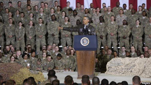 اوباما از  احتمال پایان برنامه نظامی آمریکا در افغانستان خبر داد