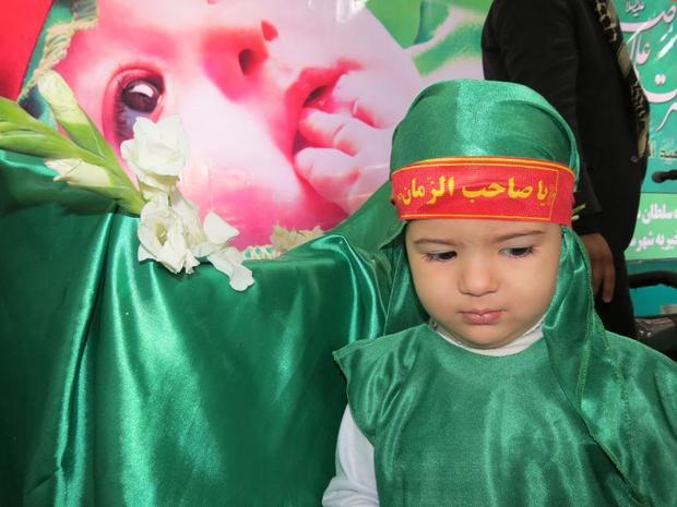 همایش شیرخوارگان حسینی در نایین، محمدیه وبافران برگزار شد