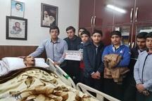 ملاقات دانش آموزان خرم آبادی از شهید زنده لرستان