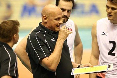 سرمربی تیم ملی والیبال کانادا: باید از اشتباهات درس بگیریم/ جو سالن فوق العاده بود