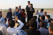 شتاب بخشی به تخلیه آب از زمینهای کشاورزی خوزستان در اولویت است