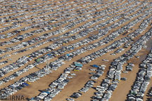 ظرفیت توقفگاه خودرویی زائران اربعین در چذابه ۲ برابر شد