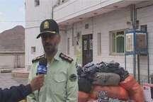 کشف 2280 دست البسه قاچاق و دستگیری پنج متهم در بجستان