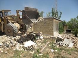 اجرای ۷۶ مورد قلع و قمع بنا در آذربایجان غربی