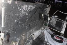 دو کشته در پی واژگونی وانت پیکان در محور امیدیه- دیلم