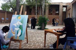 برگزاری جشنواره هفته فرهنگ رضوی در بیت تاریخی امام خمینی(س) در خمین