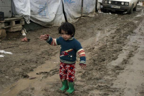 عکس روز/ بحران کودکان پناهجو