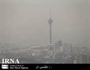 افزایش غلظت آلودگی هوای تهران