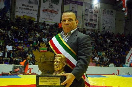 مدال نقره محمد نصیری در موزه کمیتهبینالمللیالمپیک
