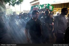 گزارش تصویری/مراسم تشییع پیکر شهید مدافع حرم