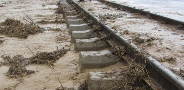 بازسازی مسیرهای ریلی در مناطق سیل زده آغاز شد