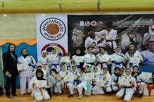 بانوان کارته کای خلخال در مسابقات جهانی درخشیدند