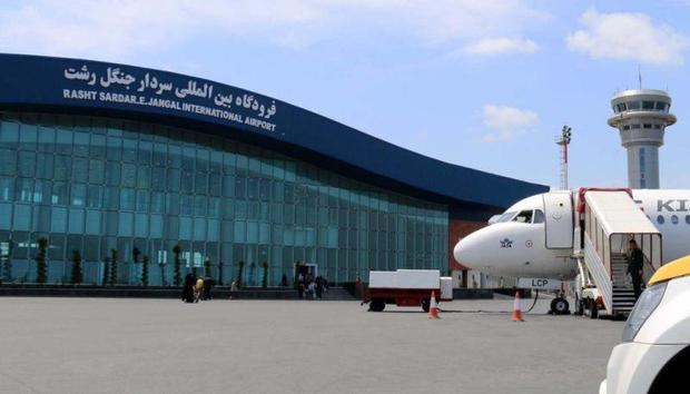 دو هزار و 600 سورتی پرواز از فرودگاه گیلان انجام شد