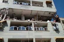 انفجار مهیب در واوان اسلامشهر  خسارت 5 تا صد درصدی به 15 واحد مسکونی