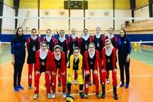 والیبال بانوان آذربایجان غربی در جایگاه چهارم کشور قرار گرفت