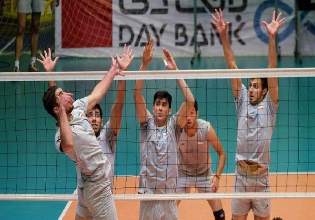 راهیابی تیمهای مازندران و البرز به فینال والیبال جوانان