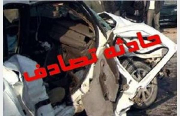 حادثه رانندگی با یک کشته و 4 مصدوم در ساری