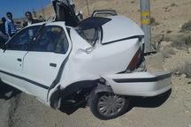 حادثه رانندگی در دلیجان یک کشته برجا گذاشت