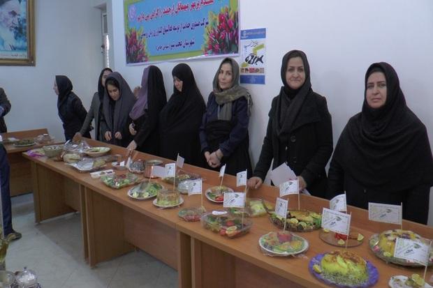 جشنواره غذاهای محلی و سالم در عجب شیر برگزار شد