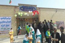 مدرسه عشایری روستای آب تاسوله گتوند افتتاح شد