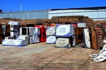 چهار هزار و 874 دستگاه انواع کولر قاچاق در اهواز کشف شد