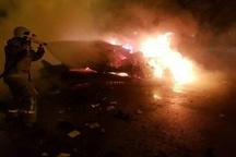 کشته شدن یک نفر براثر انفجار خودرو در گرگان  3 نفر مصدوم شدند
