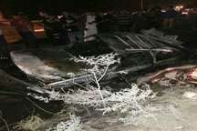مرگ یک نفر در آتش سوزی خودرو در جاده شوش - اهواز