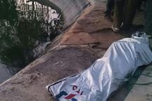 جنازه چوپان غرق شده در سیلاب بیجار پیدا شد
