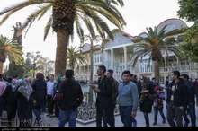 باغ ارم شیراز به روی میهمانان نوروزی آغوش گشود