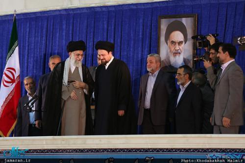 از واکنش رهبر معظم انقلاب به برخی شعارها تا هم نشینی احمدی نژاد و نوه امام