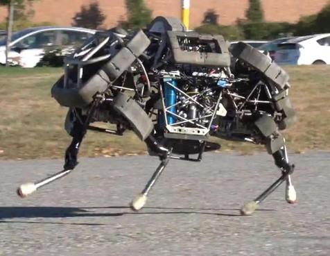 """ربات """"سگی"""" قوی ترین ربات جهان است!"""