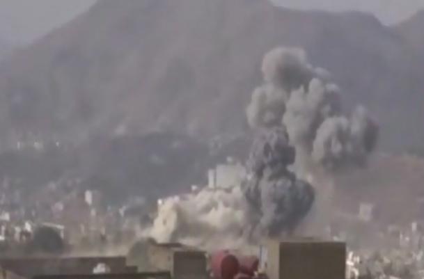 فیلم / شدت گرفتن درگیری ها در یمن