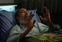 نماز خواندن انوشیروان ارجمند در بیمارستان +عکس
