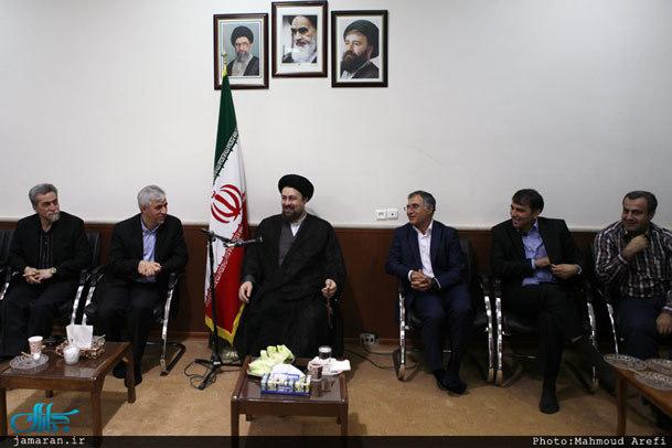 فیلم / سخنرانی یادگار امام در دیدار با مدیران و بازیکنان تیم فوتبال سایپا