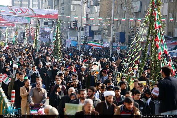 بازتاب راهپیمایی 22 بهمن در رسانه های منطقه ای و جهانی
