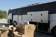 اتوبوس حامل 2 میلیارد ریال قاچاق کالا در لردگان توقیف شد