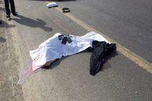 حادثه رانندگی مرگ شهروند نگین شهری را رقم زد