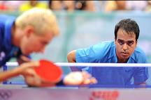 صعود پنج پله ای افشین نوروزی در رنکینگ جهانی تنیس روی میز