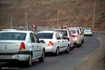 پلیس راه :جاده کرج - چالوس یک طرفه شد