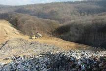 شهرداری نکا: تصاویر منتشر شده مربوط به دفن معدن زباله نمی باشد