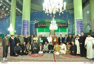 حضور زائران کشور لیبی در حرم مطهر حضرت امام خمینی(س)