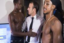 عکس جنجالی از رئیس جمهور فرانسه