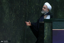 روحانی: آمریکا فهمید که ملت ایران با فشار حداکثری به زانو در نمی آید