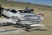 14 حادثه جاده ای در شرق سمنان، یک کشته و15 زخمی برجای گذاشت