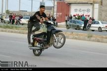 راکبان موتورسیکلت و عبور از مقررات راهنمایی و رانندگی
